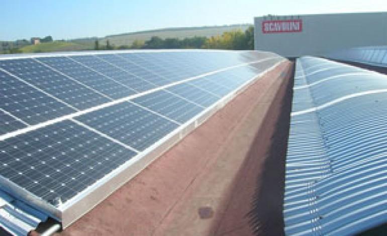 Scavolini inaugura il primo impianto fotovoltaico