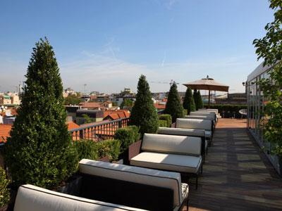 Debutta La Terrazza Dell Hotel Milano Scala Pambianco News