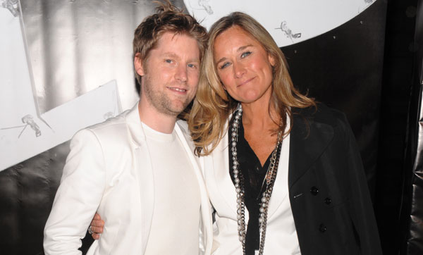 Christopher Bailey e Angela Ahrendts