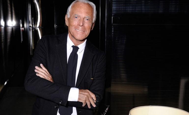 """Armani risponde a Bertelli: """"Tutti sfilino a Milano"""""""