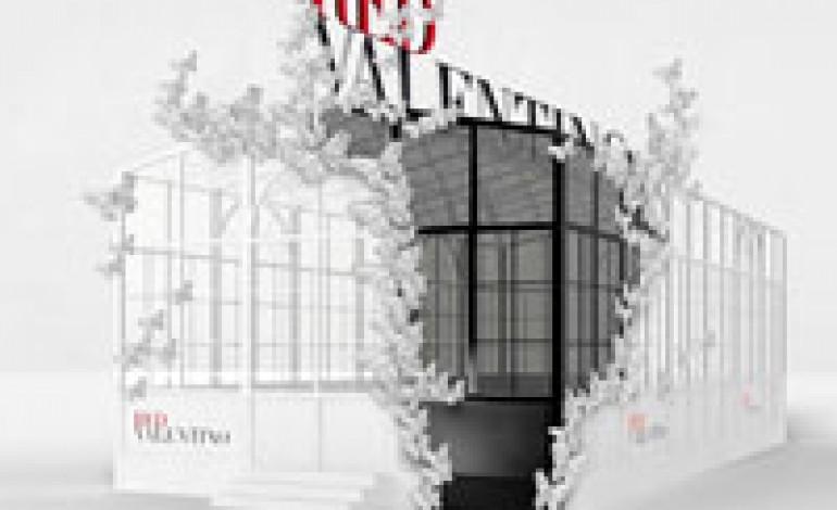 Nuovo pop up greenhouse per REDValentino
