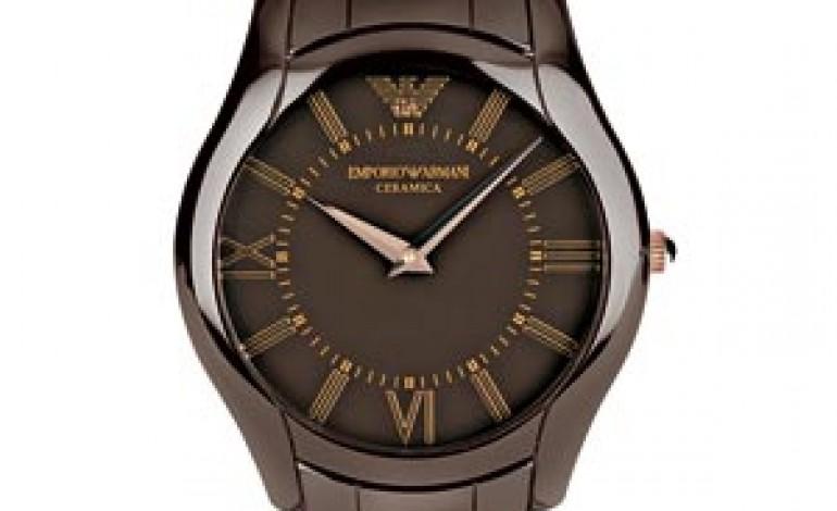 Emporio Armani scommette sulla ceramica per orologi e gioielli