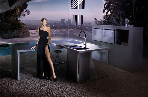 Franke - Campagna pubblicitaria con Heidi Klum
