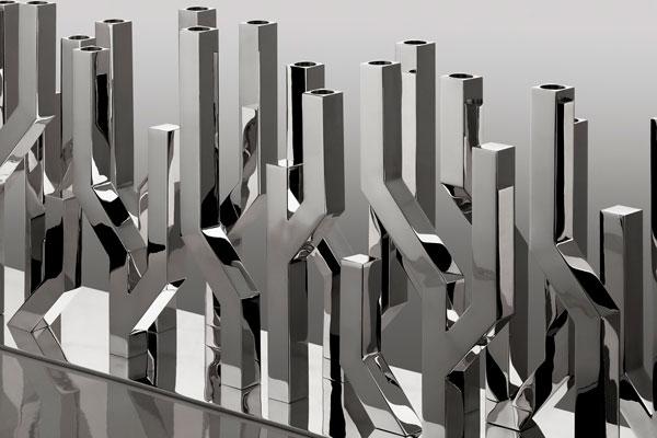 arborescence di christofle la natura secondo ora to pambianco news. Black Bedroom Furniture Sets. Home Design Ideas