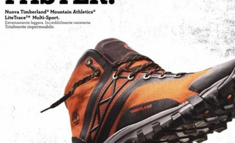 È online la campagna LiteTrace di Timberland