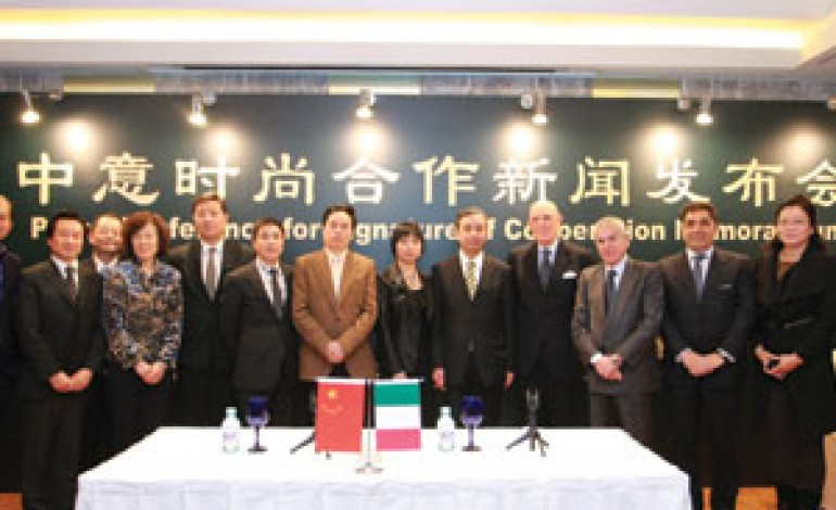 Si rafforza l'asse della moda Italia-Cina
