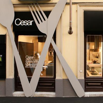 Cesar porta a torino le cucine di design pambianco news for Cucine design torino