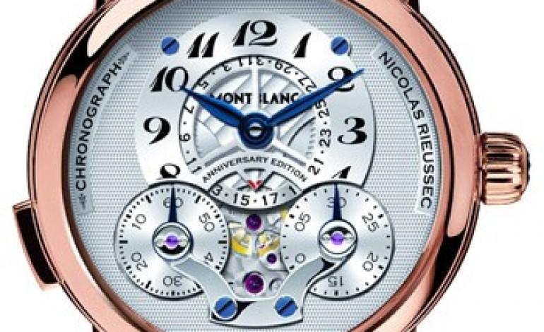 """Montblanc celebra il cronografo con la retrospettiva """"Writing Time"""""""