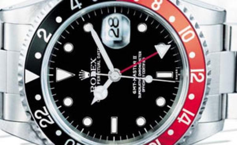 Il lusso di Rolex GMT Master in mostra a Milano
