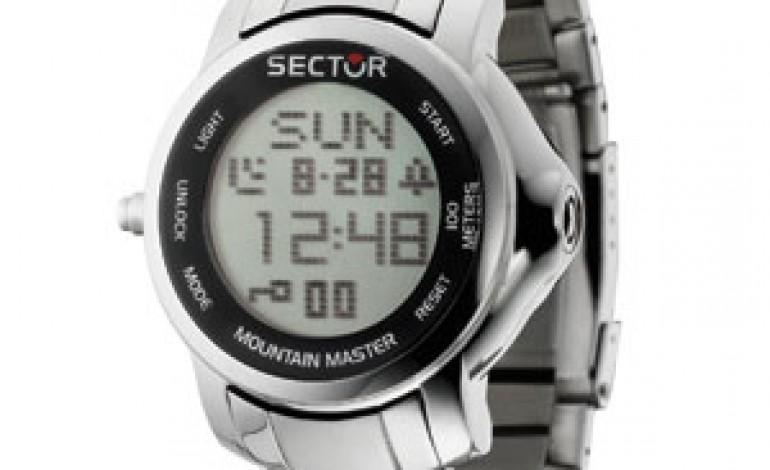 Sector Mountain Master, l'orologio che si crede un iPad