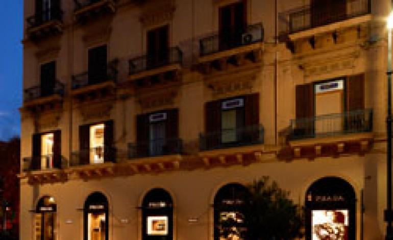 Prada apre nel cuore di Palermo