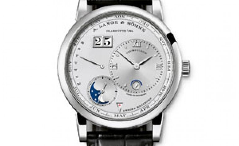 A.Lange & Söhne punta sull'eccellenza made in Germany
