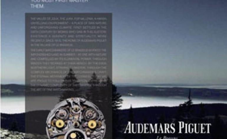 Audemars Piguet rompe gli schemi con la nuova comunicazione