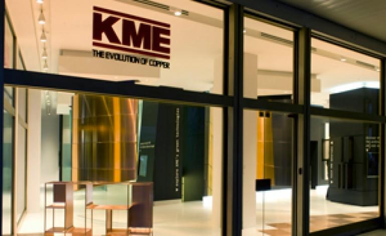 KME porta il rame in showroom a Milano