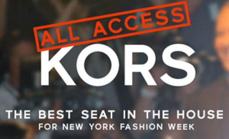 Michael Kors lancia oggi All Access Kors