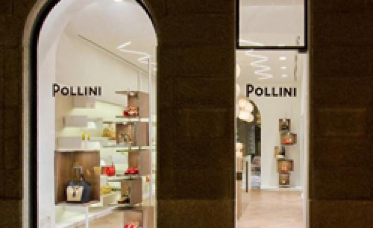 Pollini apre nel cuore modaiolo di Milano