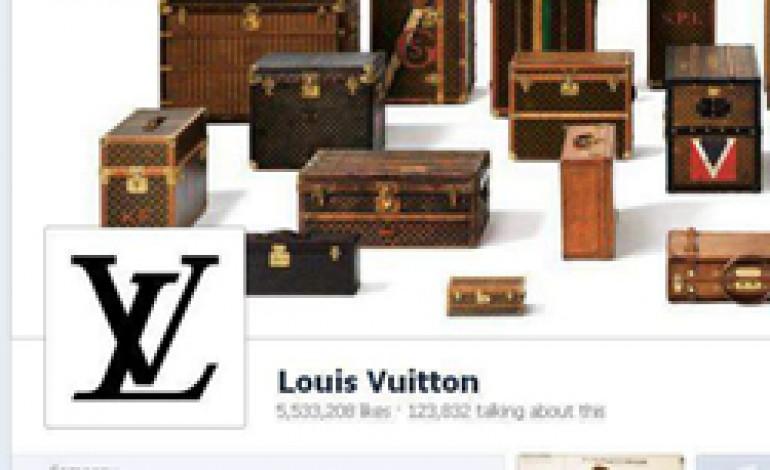 Louis Vuitton presenta la sua nuova veste su Facebook