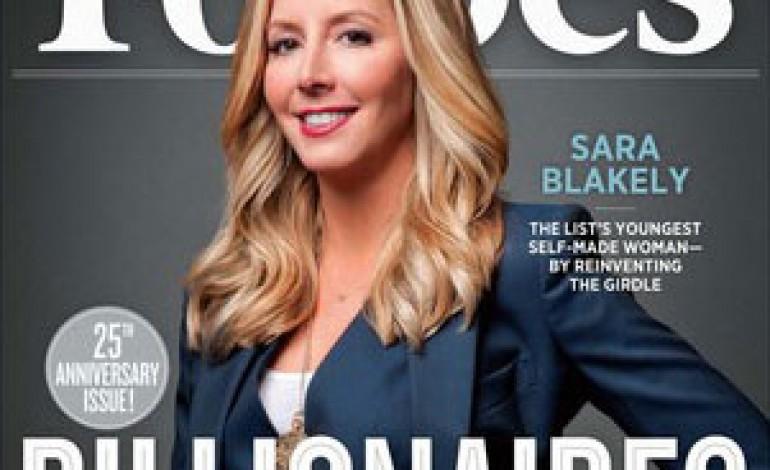 Forbes riserva l'ultima cover all'ideatrice delle guaine Spanx