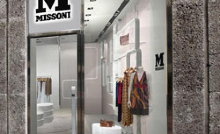 I negozi M Missoni si vestono di nuovo