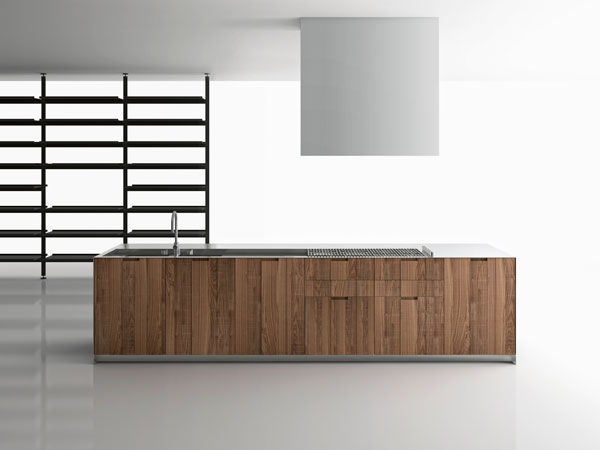 Boffi Cucina. Kitchen Wooden Island Lacquered Chelsea With Boffi ...