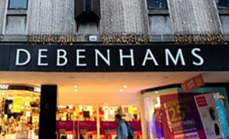 Debenhams aprirà in Russia a settembre