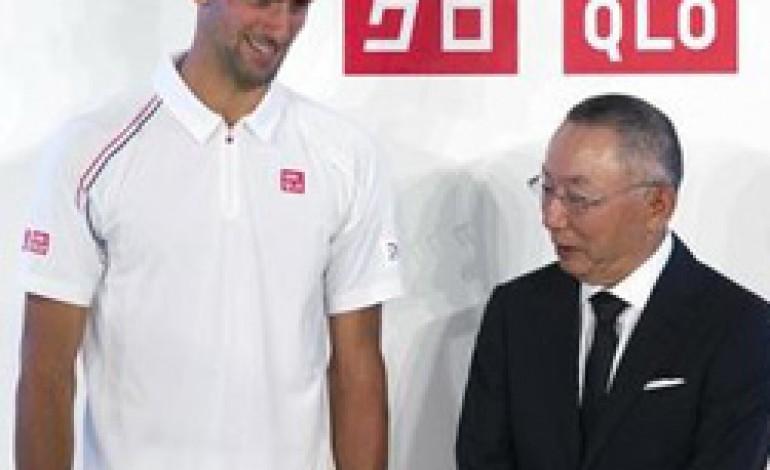 Novak Djokovic nuovo testimonial di Uniqlo