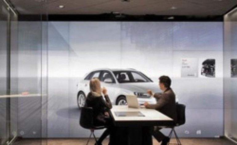 Audi apre a Londra il primo showroom digitale