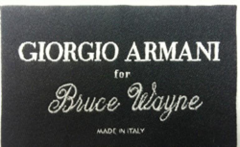 Giorgio Armani veste Bruce Wayne