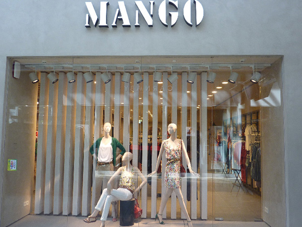 Mango - Concept store russo