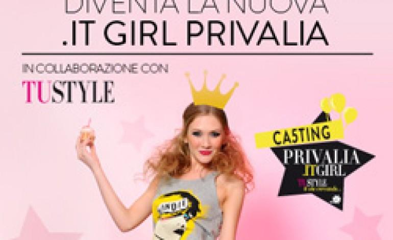 Privalia festeggia 5 anni e lancia un casting per trovare la Privalia.it girl