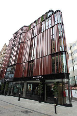 Flagship store di Bosideng a Londra