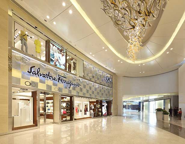 Flagship store Salvatore Ferragamo - Shangai International Financial Center