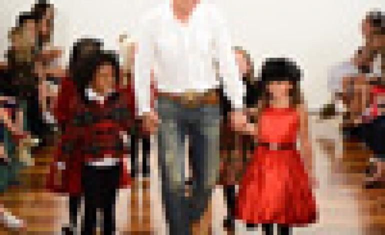 NY: Ralph Lauren Girls fashion show