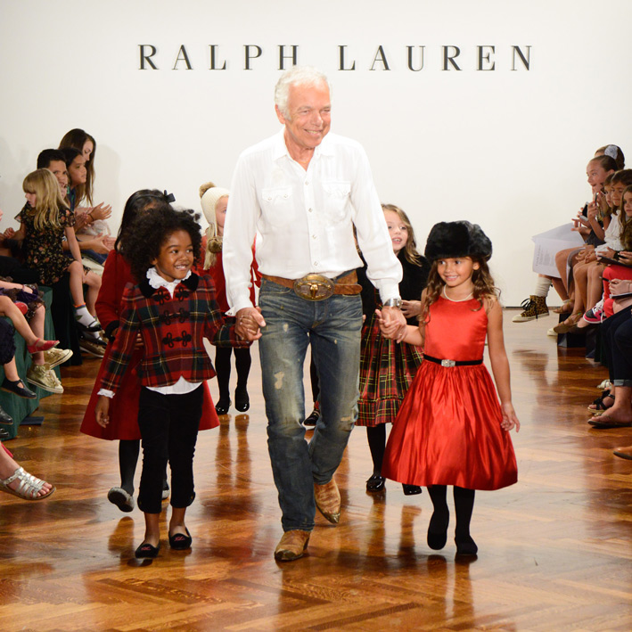 Ralph Lauren Girls Fashion Show
