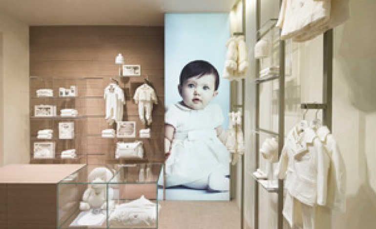 Primo negozio a Roma per Armani Junior