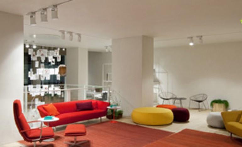 Il nuovo showroom di Arper a Londra
