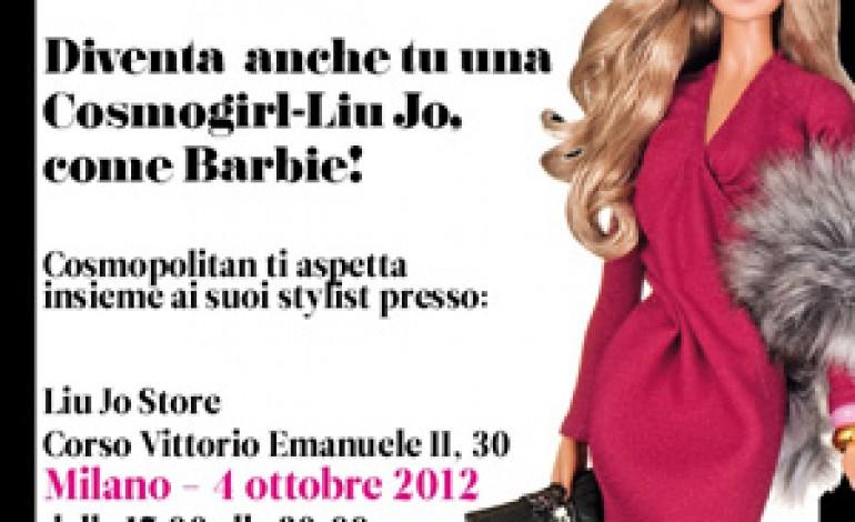 """Cosmopolitan e Liu Jo insieme per """"Barbie Liu Jo"""""""