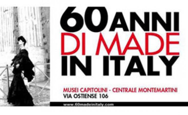 """Inaugura a Roma la mostra """"60 anni di made in Italy"""""""