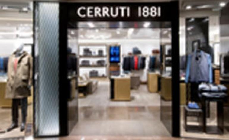 Cerruti 1881 nuovo concept store a Hong Kong