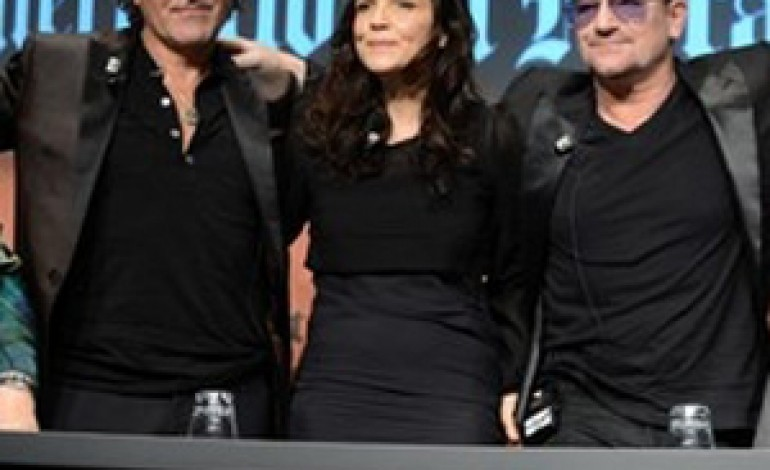 Rosso, Bono e Hewson insieme per Diesel+EDUN
