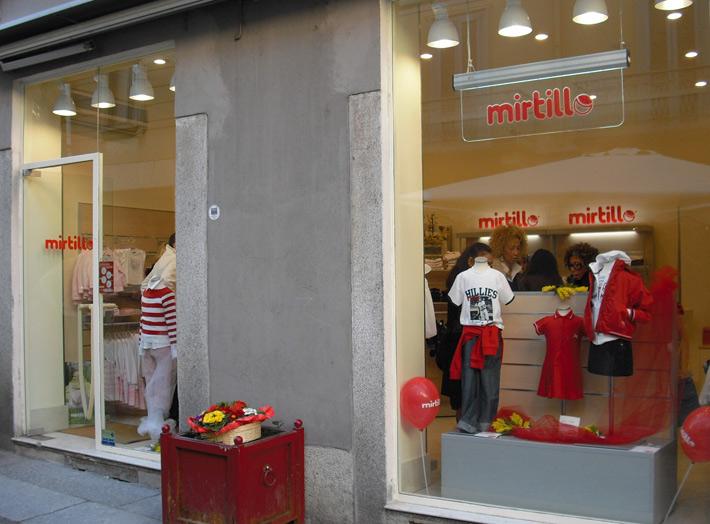 Un negozio Mirtillo