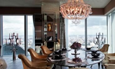 Un appartamento pilota per Visionnaire nella Moscow City Tower