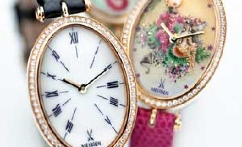 Meissen lancia a Milano gli orologi donna