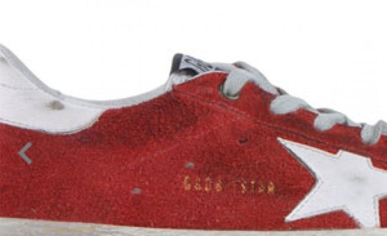 Dallocchio prova le sneaker Golden Goose