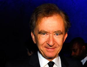 Benard Arnault, proprietario di LVMH