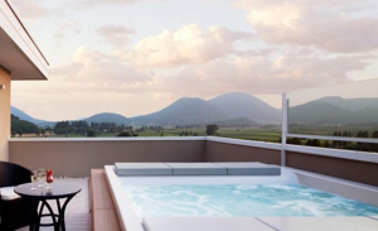 Teuco firma le minipiscine del Radisson Blu Resort