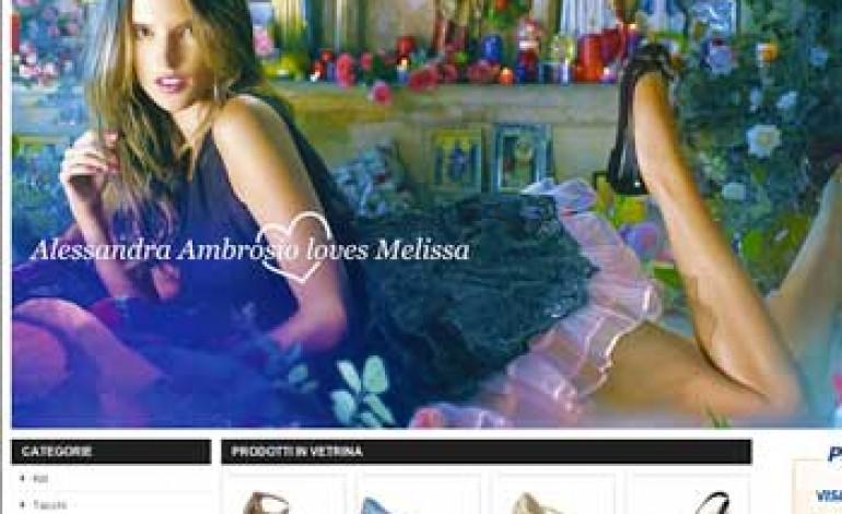 Melissa lancia l'e-shop in Italia