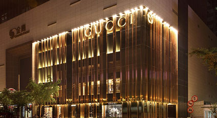 Store di Gucci a Shanghai