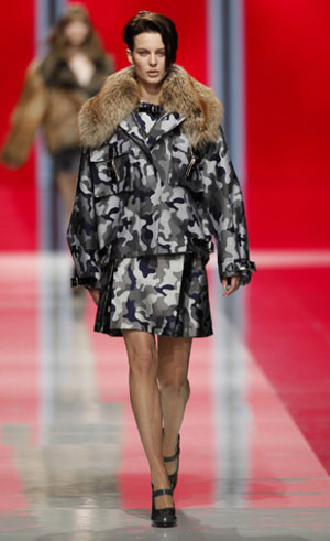 Un look Christopher Kane