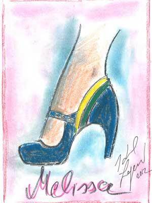 Melissa Ginga by Karl Lagerfeld